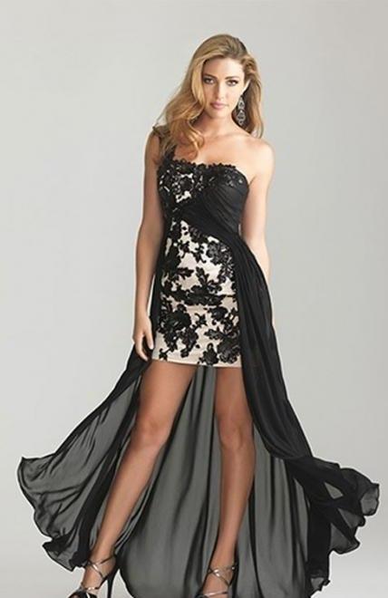 Короткие корсетные платья