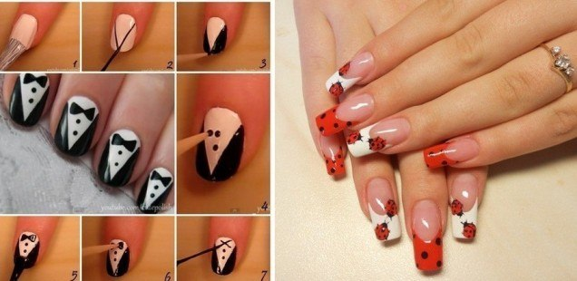 Как в домашних условиях накрасить ногти не испачкав кутикулу в домашних