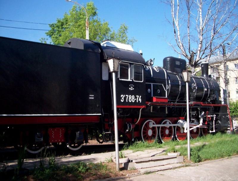 Кировский Музей железнодорожного транспорта